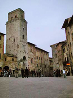 San Gimignano tour Central Square