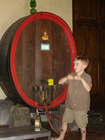 Barrel wine